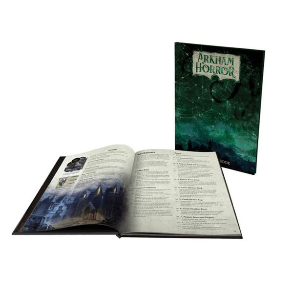 Arkham Horror Third Edition Deluxe Rule Book