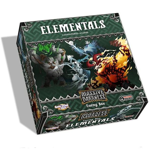 Massive Darkness: Enemy Box: Elementals