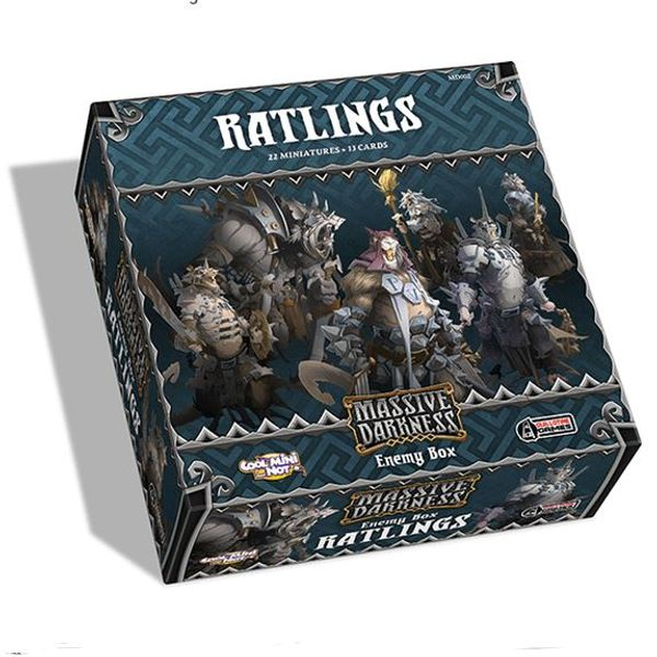 Massive Darkness: Enemy Box: Ratlings