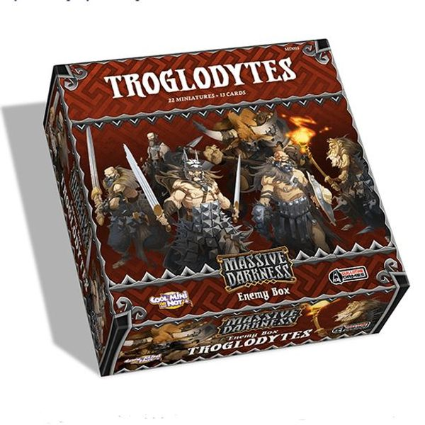 Massive Darkness: Enemy Box: Troglodytes