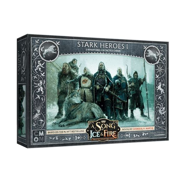A Song of Ice & Fire: Tabletop Miniatures Game – Stark Heroes I Expansion