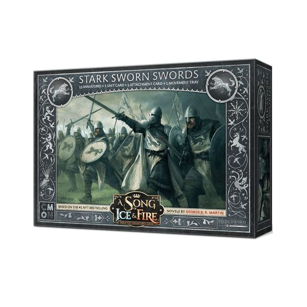 A Song of Ice & Fire: Tabletop Miniatures Game – Stark Sworn Swords Expansion
