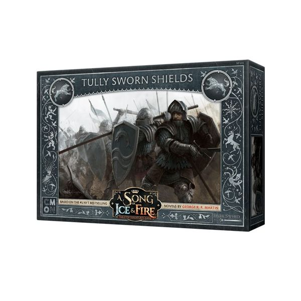 A Song of Ice & Fire: Tabletop Miniatures Game – Tully Sworn Shields Expansion