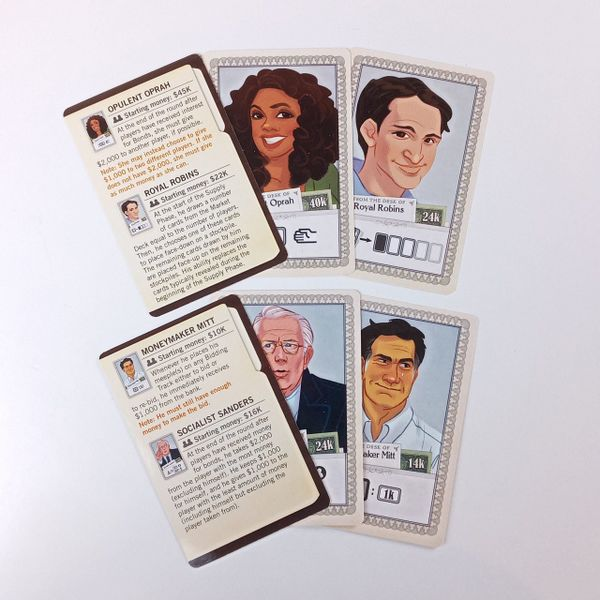 Stockpile: Investor Card Promo Pack 1 and 2